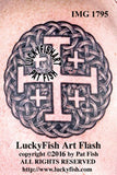 Jerusalem Cross Celtic Tattoo Design 1