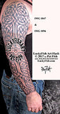 Valiant Full Arm Sleeve Celtic Tattoo Design