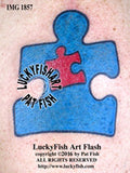 Autism Symbol Tattoo Design