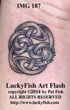 Celtic Yin-Yang Tattoo Design 2