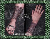 Hold Fast Cuff Celtic Knotwork Tattoo Design