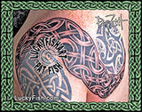 Celtic Knot Connection Tattoo Design