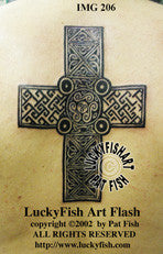 Brian Boru's Cross Celtic Tattoo Design 1