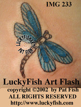 Mayfly Tattoo Design 1