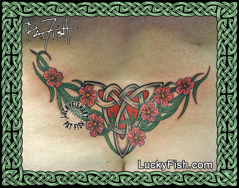 Irish Spring Celtic Tattoo Design