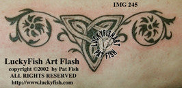 Tapestry Trinity Celtic Tattoo Design 1