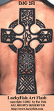 High Cross Celtic Tattoo Design 3