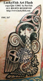 Evangeleagle Celtic Tattoo Design 2