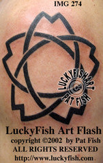 Fish Star Tattoo Design 1
