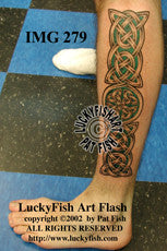 Healing Band Celtic Tattoo Design 1