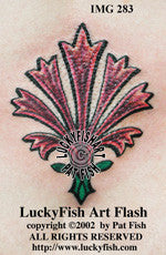 Gilly Flower Tattoo Design 1