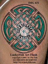Maze Knot Celtic Tattoo Design 1