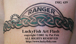 Ranger Band Celtic Tattoo Design 1