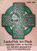 County Cork Cross Celtic Tattoo Design 1