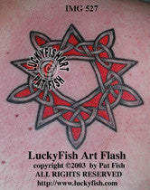 Star Bright Celtic Tattoo Design 1