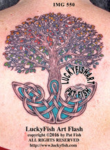 Tree of Life Celtic Tattoo Design 1