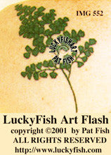 Maidenhair Fern Tattoo Design 1