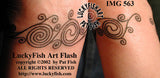 La Tene Swirls Celtic Tattoo Design 3