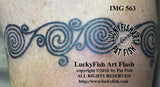 La Tene Swirls Celtic Tattoo Design 2