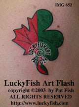Irish-Canadian Tattoo Design 1