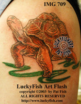 Galapagos Tortoise Tattoo Design 1