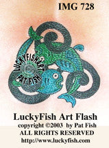 Fin Yang Fish Tattoo Design 1