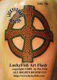 Cross of St. John Celtic Tattoo Design 2