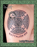 Fireman's Cross Celtic Tattoo Design 4