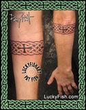 St. Jason's Band Celtic Tattoo Design 4