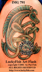 MerPony Celtic Horse Tattoo Design 1