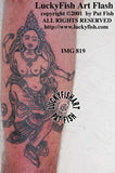 Green Tara Buddhist Tattoo Design 2