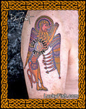 Book of Kells Lion Celtic Tattoo Design 3
