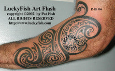 Maori Tribal Tattoo Design 1
