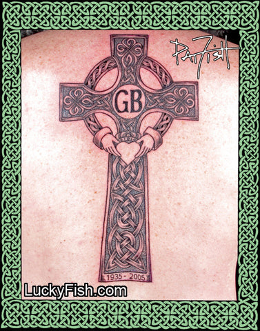 Killarney Cross Celtic Tattoo Design 2