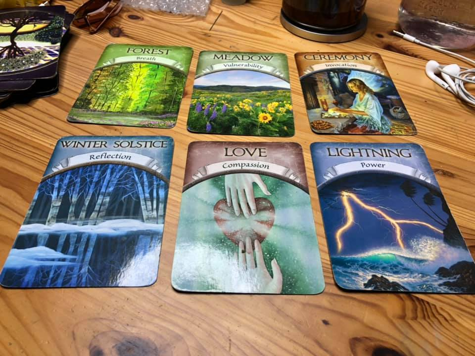 Why do I share oracle cards and the cosmic weather?