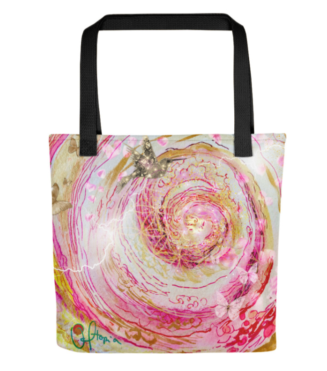 POWER OF THE PORTAL Tote bag