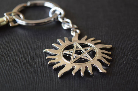 Anti-Possession Charm Keychain