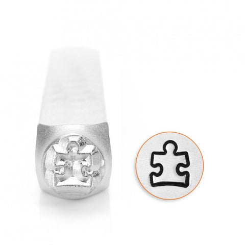 Autism Awareness Metal Design Stamp 6mm