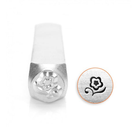 Blossom Metal Design Stamp 6mm
