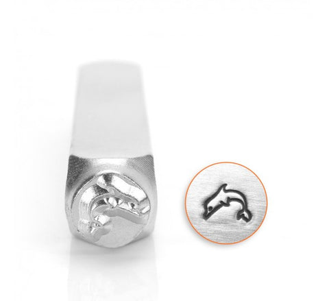 Dolphin Metal Design Stamp 6mm