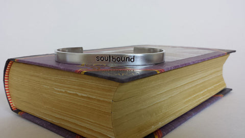 Soulbound - World of Warcraft Inspired Aluminum Bracelet Cuff