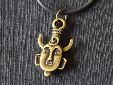 Samulet Pendant - Supernatural Inspired Pendant Necklace