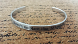 There's no place like 127.0.0.1 - Bracelet Cuff
