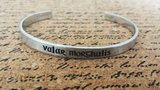 Valar Morghulis - Game of Thrones Inspired Bracelet Cuff