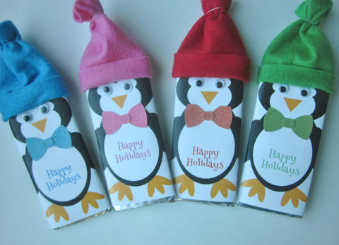 Penguin Candy Bar-Candy Bar Wrapper-Cathy's Creations - www.candywrappershop.com