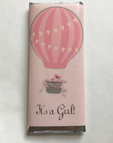 Hot Air Balloon Candy Bar Wrapper - Cathy's Creations - www.candywrappershop.com