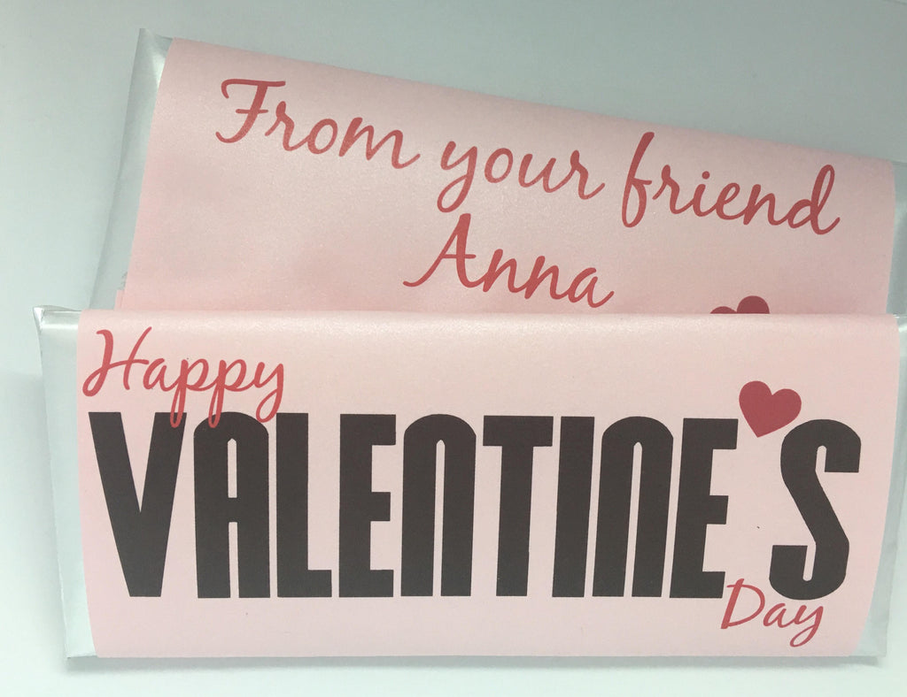 Valentine's Day Candy Bar Wrapper - Cathy's Creations - www.candywrappershop.com