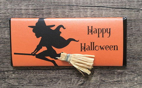 Halloween Witch Candy Bar-Candy Bar Wrapper-Cathy's Creations - www.candywrappershop.com