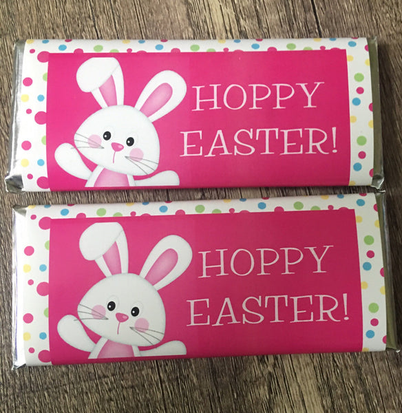 Easter Polka Dots Candy Wrapper - Cathy's Creations - www.candywrappershop.com
