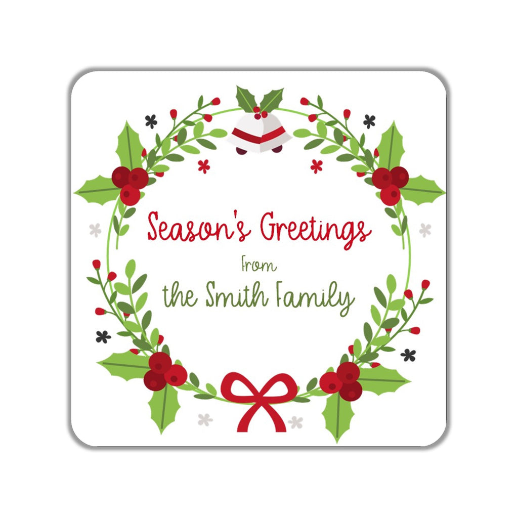 Christmas Gift Stickers OR Tags - Cathy's Creations - www.candywrappershop.com